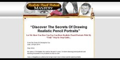 Realistic Pencil Portrait Mastery - Learn How To Draw Realistic Pencil Portraits