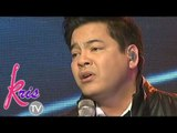 "Martin sings his version of ""All Of Me"" on Kris TV"