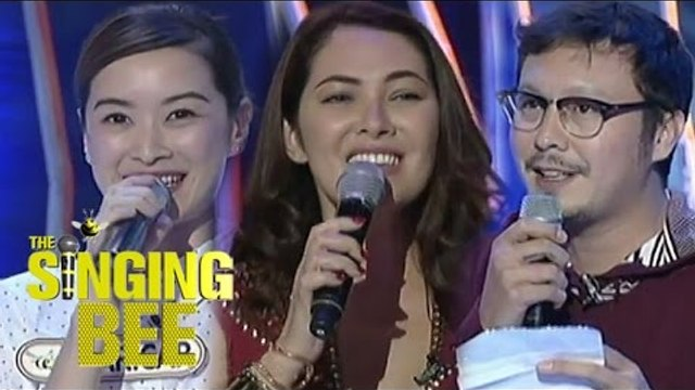 Kapamilya Stars Maricar, Ruffa and Baron on The Singing Bee