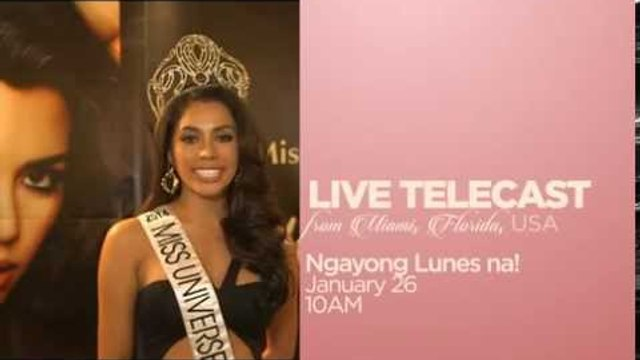 Miss Universe 2014 on ABS-CBN!