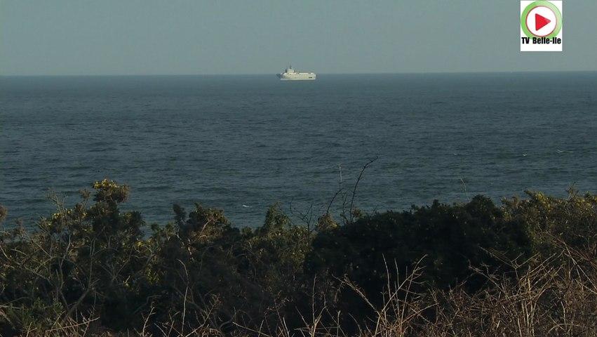 Essais en mer du BPC Mistral Russe Sebastopol - TVBI Belle-Ile Télévision