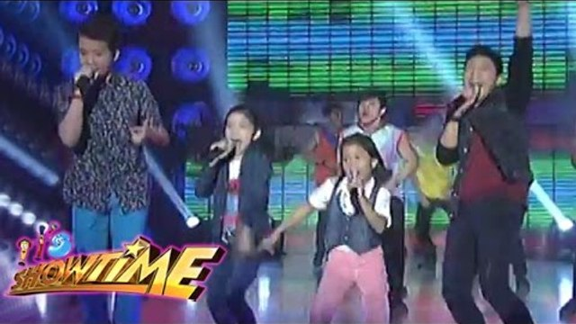Lyca, Darren, Darlene and Juan Karlos performed on It's Showtime