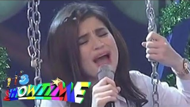 """Anne Curtis sings """"Halo"""" on Showtime"""