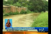 Desborde de río en Guayas causa cuantiosas pérdidas