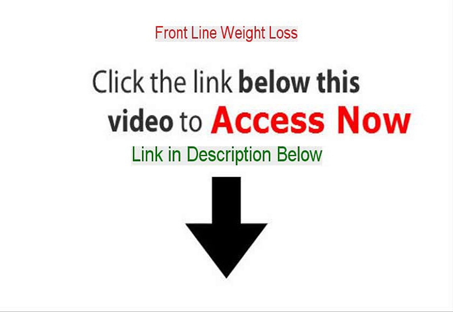 Front Line Weight Loss Free PDF - Front Line Weight Loss 2015