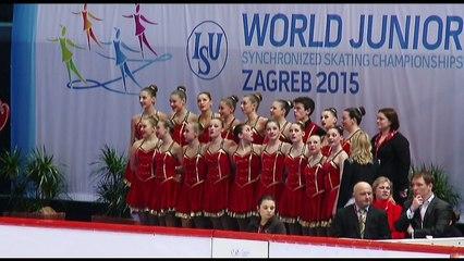 ISU World Junior Synchronized Skating Championships Day 2 Group 3
