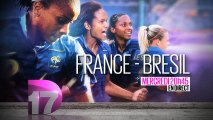 Football : Match amical féminin 2014 - France / Brésil