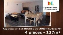 A vendre - Appartement - LES ROCHES DE CONDRIEU (38370) - 4 pièces - 127m²