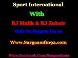 PAK VS IRL ICC WORD CUP 2015  Live COMMENTARY  Only On SARGAM FM 92 Sargam Fm 92 ) Sport International) RJ Malik Ali & RJ Zubair