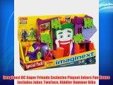 Imaginext DC Super Friends Exclusive Playset Jokers Fun House Includes Joker TwoFace Riddler