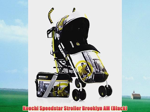 Koochi Speedstar Stroller Brooklyn AM (Black)
