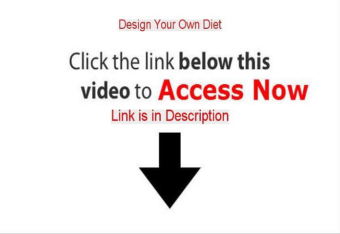 Design Your Own Diet PDF [design your own deity]