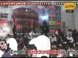 Zakir Sayed Najam ul Hassan Notak 30 March 2014 chungi amar sadhu Lahore