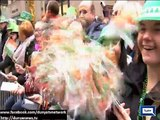 Dunya News-Parades, Parties as St. Patrick's Day Dyes the World Green