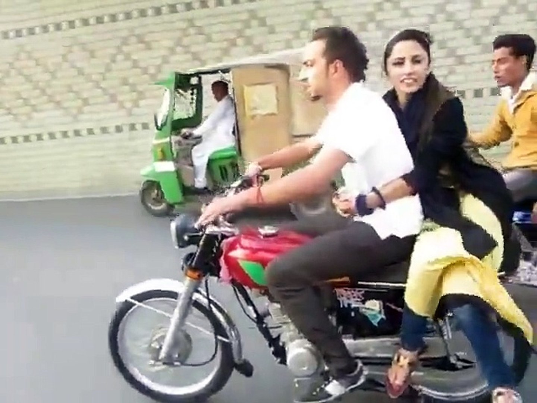 Brave Girl With Biker Boy