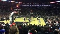Alley Oop Leonard vs Portland Blazers