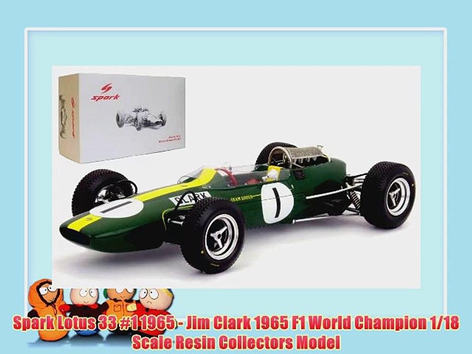 Jim Clark Figur für 1:18 Lotus Spark