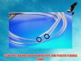 CLEAR PVC TUBING FISH POND HOSE PIPE TUBE PLASTIC FLEXIBLE 3mm