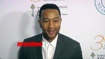 John Legend 30th Anniversary Impact Awards Dinner Red Carpet