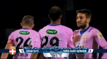Football : Coupe de France - Evian Thonon Gaillard (D1) / Bordeaux (D1)