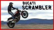 Essai Ducati Scrambler : une moto étonnamment... SOLIDE !