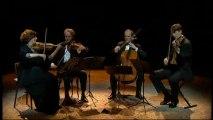 Le Quatuor Artémis interprète Beethoven, Verdi et Webern-Concert aux Bouffes du Nord (Paris)