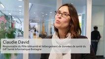 Interview de Claudie David, responsable du Pôle télésanté et hébergement de données de santé chez GIP Santé Informatique Bretagne (SIB).
