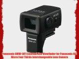 Panasonic DMW-LVF1 External Live Viewfinder for Panasonic GF1 Micro Four Thirds Interchangeable