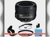 Nikon 50mm f/1.8G AF-S NIKKOR Lens for Nikon Digital SLR Cameras (2199) with 58mm UV Filter