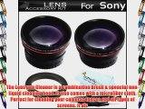 Vivitar Lens Kit For Sony a7 a7R A58 A55 A33 A35 A65 A57 a99 DSLR SLT A55 SLT A33 SLT-a35 SLTA35K