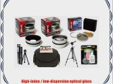 Olympus SP-570 SP-565 SP-560 SP-550 UZ Professional HD2 Digital Accessory Kit