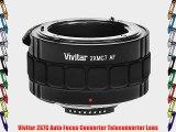 Vivitar 2X7S Auto Focus Converter Teleconverter Lens