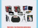 Opteka Professional HD2 Digital Accessory Kit for Kodak EasyShare Z650 Z740 Z710 Digital Camera