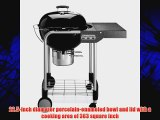 Weber 1401001 Performer Silver Charcoal Grill Black