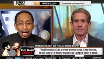 ESPN First Take - Manny Pacquiao will KO Floyd Mayweather Jr. - Freddie Roach CALLS OUT Floyd!