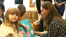 Kate visits children's centre in London