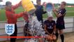 England women's football ice bucket challenge   Inside Access