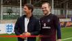 Owen joins Rooney & England for training   Inside Training
