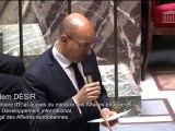 H. Désir répond à une QAG d'Olivier Véran sur la réorientation européenne