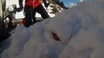 Bel oiseau 25 Fév 2015 Rando skis