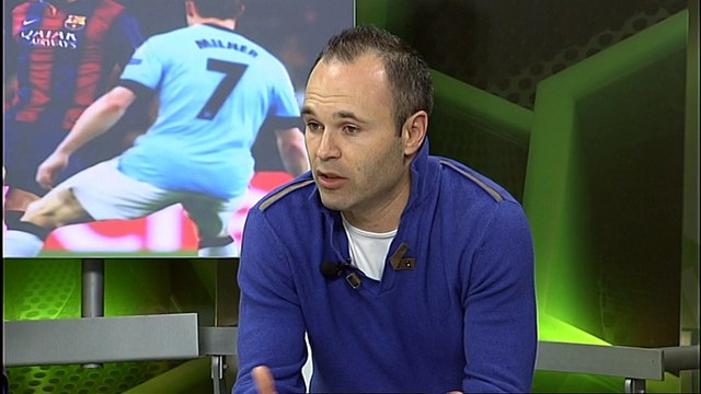 Andrés Iniesta and Marc André ter Stegen reflect on the win over Man City