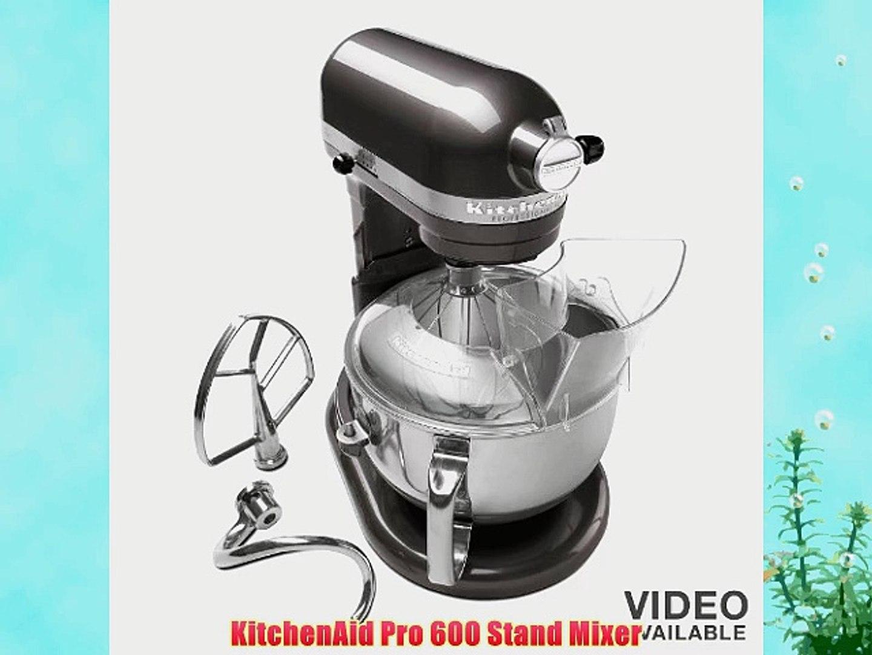 KitchenAid KP26M1XBS Professional 600 Series 6-Quart Stand Mixer Blue Steel