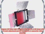 EVERSTAR? Yongnuo YN-160S LED video light With 160pcs Lamps for Camcorder DSLR Camera Canon