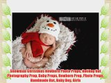Snowman Christmas Newborn Photo Props Holiday Hat Photography Prop Baby Props Newborn Prop
