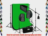 ePhoto 3 x Premium HoneyComb Softbox Photography Studio Video Lighting Kit Boom Stand Hair