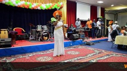 MAHELY BA AU CONCERT D'ABOU GALLIET, LE 11 AVRIL 2014