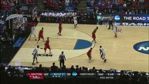 NCAA - Dyshawn Pierre perd son short en plein match
