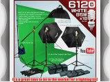 Photo Video Studio Fluoreescent Cool Light With 3 Fluorescent Light Bank Linco Flora 3 35''