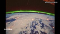 Des aurores boréales vues de l'espace