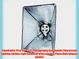 LimoStudio 2Pcs 20 x 28 Photography Continuous Fluorescent Lighting Softbox Light Reflector
